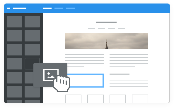 Drag & Drop Web Builder